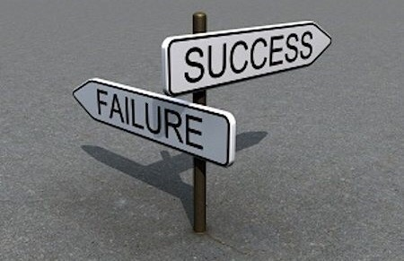 The only thing I succeed at isfailing.